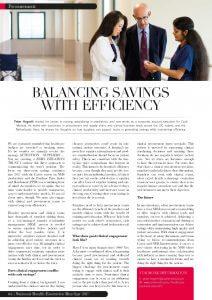 NHE-Balancing savings with efficiency (Hogarth)